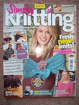 Simply Knitting Magazine ISSUE 2 May 2006