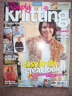 Simply Knitting Magazine ISSUE 1 April 2006