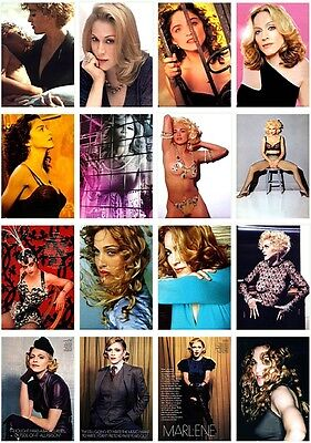 144  postcards of  Madonna Ciccone pop singer queen hot beauty music cover show