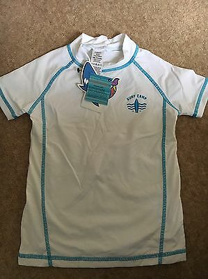 Brand New With Tags - NEXT BOYS UV SWIM T-shirt  AGE 4 Years