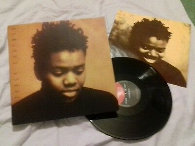 TRACY CHAPMAN | ORIGINAL 1988 | DEBUT ALBUM | VINYL LP | UK EKT 44 with Inner