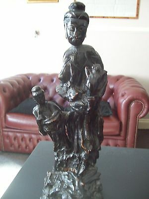 chinese 18th/19th century freeform root carving
