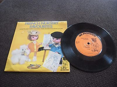 """Mr Pickwick's """"French Nursery Favourites""""  MFP 9025 Vinyl in Ex Cond!"""