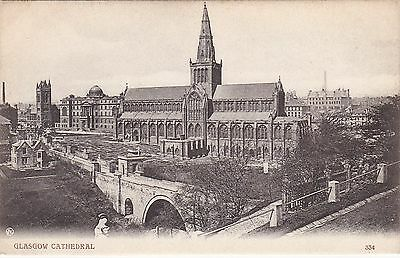 Early View Of The Cathedral, GLASGOW, Lanarkshire