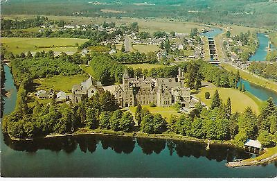 Aerial View, Abbey & Village, FORT AUGUSTUS, Inverness-shire