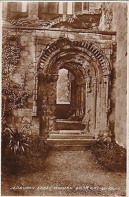 Norman Doorway In Abbey, JEDBERGH, Roxburghshire RP