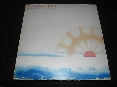 """The Albion Band  """"Rise Up Like the Sun""""  SHSP 4092  Vinyl in Ex Cond"""