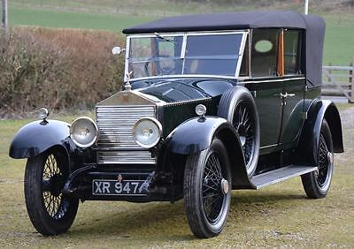 1923 Rolls-Royce 20hp Barker All Weather Cabriolet
