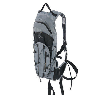 Outeredge Hydration Backpack - Grey/Black, 2 Litre, Water, bag, Rucksack