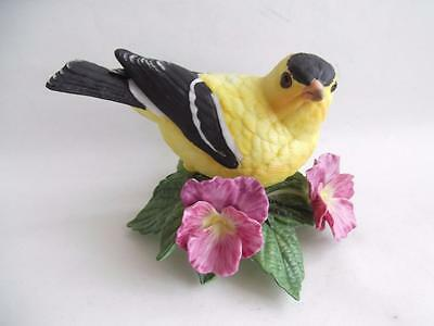American Goldfinch - Lenox Porcelain Garden Birds Collection