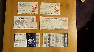 6 x Derby County v Nottingham Forest Tickets Inc 2016/2017