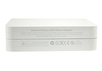 "NEW APPLE Power Adapter 65W Apple 20"" Cinema Display DVI A1096 A1081 - UK SELLER"