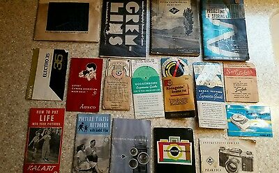 Vintage Lot Of Photography Literature