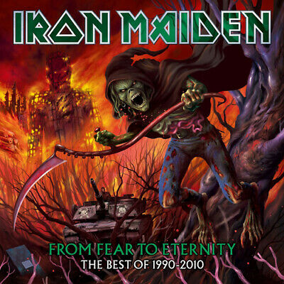Iron Maiden : From Fear to Eternity: The Best of 1990-2010 CD (2011)