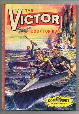 DC Thomson - The Victor Book for Boys Annual - 1965 - No 2 - UNCLIPPED - RARE!!!
