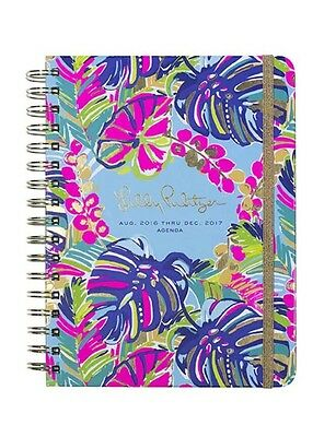 LILLY PULITZER 17 Month PLANNER in EXOTIC GARDEN 2016-2017-monthly views/pages