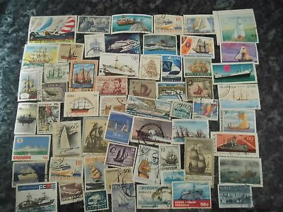 Collection LOT Thematic stamps Boats / Ships / Sailing