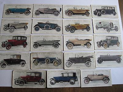Lambert and Butler Motor Cars part set First Series 19/25
