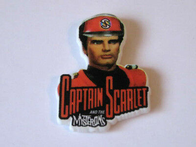 CAPTAIN SCARLET COMIC No 3. FREE GIFT BADGE. 1993 SCARCE. MINT CONDITION.