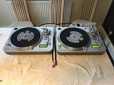Ministry Of Sound MOSTT03 Direct Turntables Pair