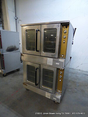 Southbend Gold Marathoner Gas Double Stack Full Size Convection Oven