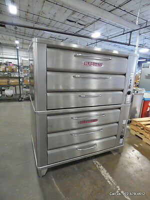 Blodgett Gas Double Deck Pizza Oven, Model 981 Year 2010