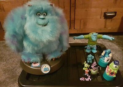 sully from Monsters Inc room guard with small collectables