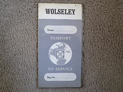 Wolseley Passport to service booklet NOS & unused May 1973