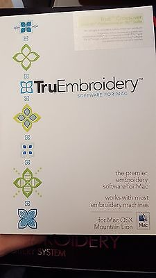 Tru EEmbroidery Crossover for MAC