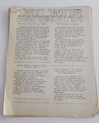 Vtg 1949-50 Girl Scout Troop Cargoes Newsletters Chicago