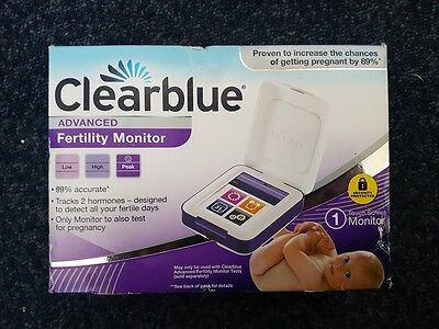 Clearblue Advanced Fertility Monitor New Model Discreet Packaging