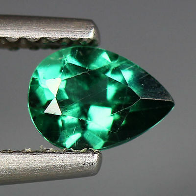 0.50 Cts_Wow !! Amazing Hot Sale_100 % Natural Neon Green Apatite_Brazil