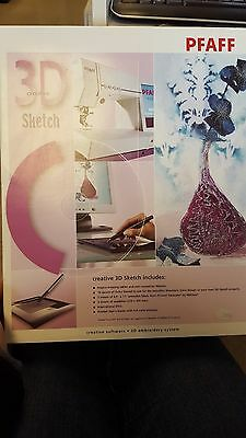 Pfaff 3D Creative Sketch Embroidery Software