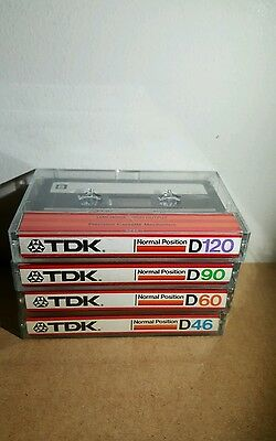 Tdk D120:90:60:46 : 1982 : Made In Japan