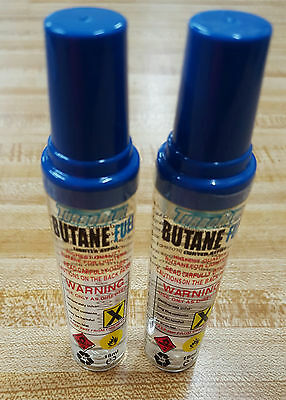 Turboblue Butane Fuel Lighter Refill 2 Bottles 18Mi Each