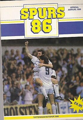 Spurs Official Annual 1986