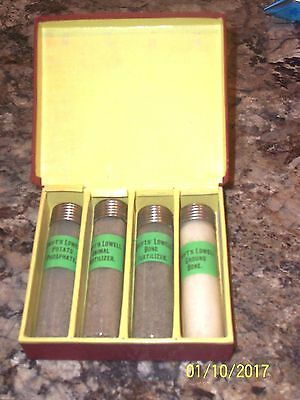Antique Swift's Lowell High Grade Fertilizers Bottles In Orig Box Might Be Sales