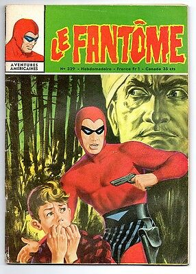 LE FANTOME n°329 - AVENTURES AMERICAINES - 1971 - BE/TBE - Avec CALENDRIER1971