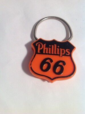 Vintage Advertising Phillips 66 Gas And Oil Key Chain Snap On New
