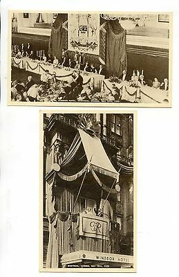 Royalty - Two Pc King George V Royal Visit To Canada 1939