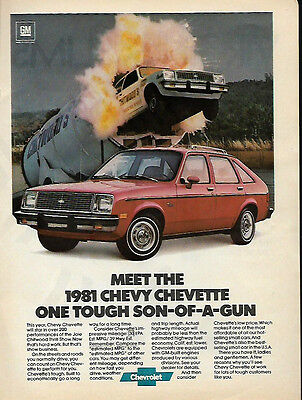1980 Meet The '81 Chevrolet Chevette Ad