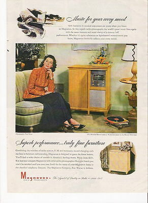 1946 Music For Your Mood Magnavox Ad
