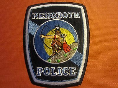 Collectible Massachusetts Police patch Rehoboth New