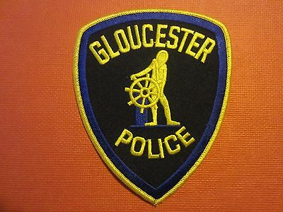 Collectible Massachusetts Police Patch Gloucester New
