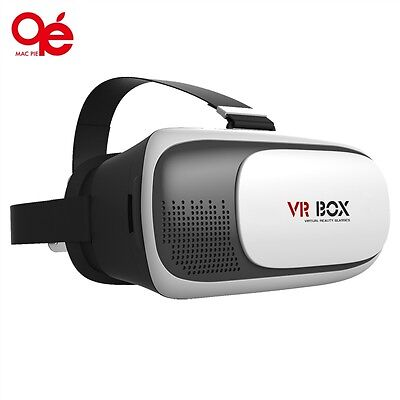 Virtual Reality VR Box II 3D Video Glasses Games Google Cardboard for Smartphone