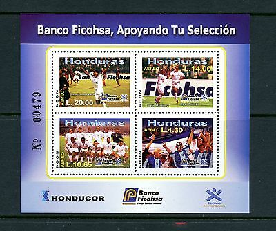 Honduras  2004 #C1176  football/soccer  sheet    MNH  J030