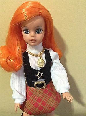 Brazilian Vintage Susi Doll By Estrela Customized From 1970