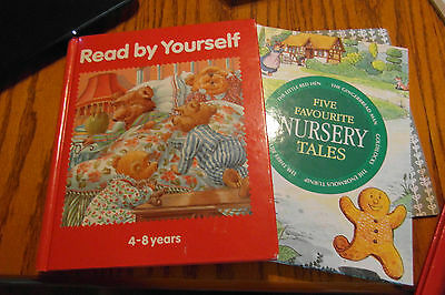 Two Mixed Children's Reading Books.