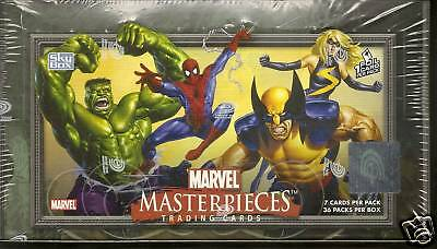 2007 Marvel Masterpieces  series 1 sealed box