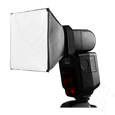 PIXCO Mini Diffuser Softbox for Flash Gun Canon Nikon Sony Pentax Cobra Yongnuo